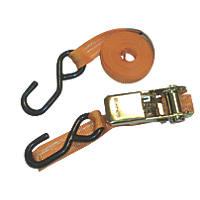 Van Guard Ratchet Tie-Down Strap & Hook 2.5m x 25mm