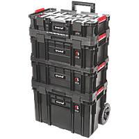 Trend  Modular Storage Compact Cart Set 4 Pcs