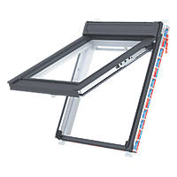 Keylite  T04 Manual Top-Hung White Painted Timber Roof Window Clear 780 x 980mm