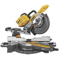DeWalt DCS727N-XJ 250mm 54V Li-Ion XR FlexVolt Brushless Cordless Double-Bevel Sliding Mitre Saw - Bare