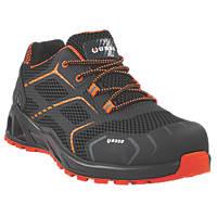 BASE K-Step B1004A   Safety Trainers Black / Orange Size 10