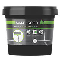 Make Good MGPRPLN027 Jointing & Filling Ready Mixed Compound White 5kg