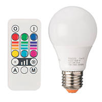 Diall  ES GLS Colour-Changing LED Light Bulb 45lm 2.8W