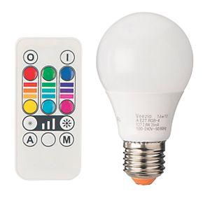 diall es gls colour changing led light bulb 45lm 2 8w. Black Bedroom Furniture Sets. Home Design Ideas