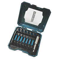 "Erbauer  ¼"" Hex Shank Mixed Screwdriver Bit Set 14 Pieces"