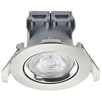LAP  Adjustable  LED Downlight Brushed Nickel 370lm 5W 220-240V