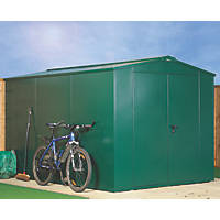 Asgard Gladiator Plus All-Metal Bike Store Green 2.3 x 3.3m