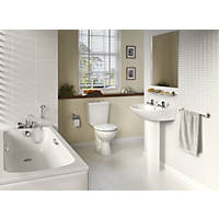 Armitage Shanks Sandringham 21 Contemporary Single-Ended Bathroom Suite with Acrylic Bath