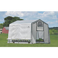 Rowlinson ShelterLogic Greenhouse 10' x 10' (Nominal)