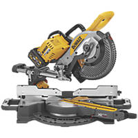 DeWalt DCS727T2-GB 250mm 54V 6.0Ah Li-Ion XR FlexVolt Brushless Cordless Double-Bevel Sliding Mitre Saw
