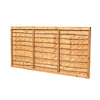 Forest  Lap  Fence Panels 6 x 4' Pack of 3