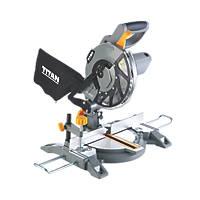 Titan TTB795MSW 210mm  Electric Single-Bevel  Compound Mitre Saw 240V