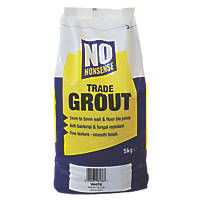 No Nonsense  No Mould Grout White 5kg