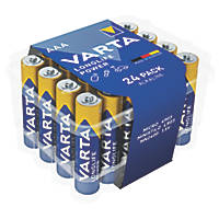 Varta Longlife Power AAA High Energy Batteries 24 Pack