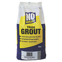 No Nonsense  No Mould Grout Manhattan Grey 5kg