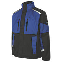 "Goodyear GYJKT014 Waterproof Padded Jacket Black/Royal X Large 44"" Chest"