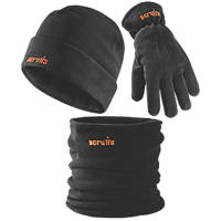 Scruffs T54875 Winter Accessories Pack Black