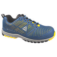 Delta Plus Sportline   Safety Trainers Blue / Yellow Size 10