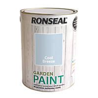 Ronseal Garden Paint Cool Breeze 5Ltr