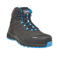 BASE K-Road Top B1001B   Safety Boots Black / Blue Size 7