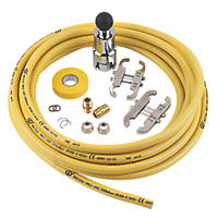 Teslaflex Gas Fitting Kit  10m DN12 13 Pieces