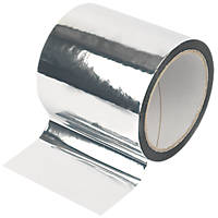 Diall Insulation Board Tape Silver 45m x 100mm