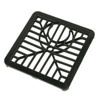 FloPlast  Gulley Grid 150mm Black
