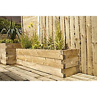 Forest Caledonian Raised Bed   x  x