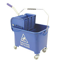 Mobile Mop Bucket Blue 20Ltr