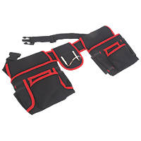Tool Belt with Double Pouch