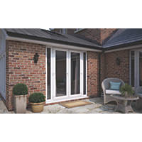 ATT  uPVC French Doors & Sidelights White 2390 x 2090mm