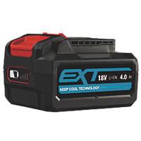 Erbauer EBAT18-Li-4 18V 4.0Ah Li-Ion EXT Battery