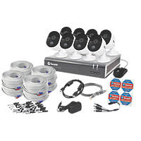 Swann SODVK-845808-UK 8-Channel 1080p CCTV DVR & 8 Cameras