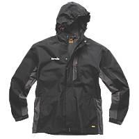"""Scruffs Worker Jacket Black / Graphite X Large 46"""" Chest"""