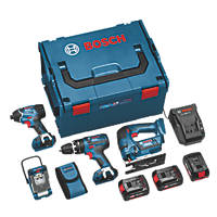 Bosch 0615990FS0 18V 4.0Ah Li-Ion   Cordless Professional 4-Piece Kit