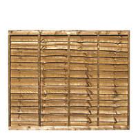 Grange Professional Lap Fence Panels 1.83 x 1.5m 5 Pack