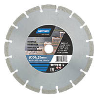 Norton  Masonry/Stone Segmented Diamond Cutting Blade 300 x 20mm