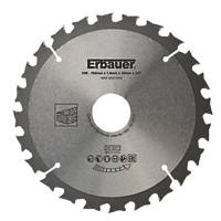 Erbauer TCT Saw Blade 160 x 30mm 24T