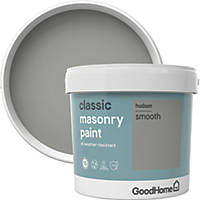 GoodHome Smooth Masonry Paint Hudson 5Ltr
