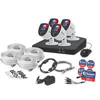 Swann SWDVK-84680SD4-EU 32GB 8-Channel 1080p DVR CCTV Kit & 4 Indoor & Outdoor Cameras