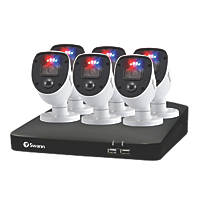 Swann SWDVK-846806SL-EU 1TB 8-Channel 1080p CCTV System & 6 Indoor & Outdoor Cameras