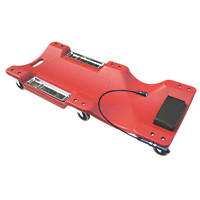 Hilka Pro-Craft Car Creeper with Magnetic Tray & LED Light 1010 x 475mm