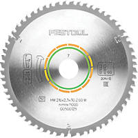 Festool TCT Circular Saw Blade 216 x 30mm 60T