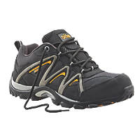 Site Mercury   Safety Trainers Black Size 7