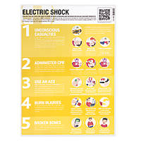 Electric Shock Poster 594 x 420mm