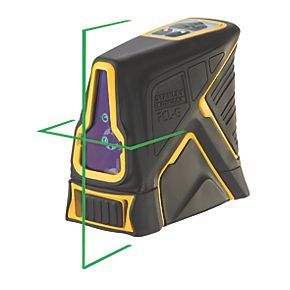 stanley fatmax green beam cross line laser laser levels. Black Bedroom Furniture Sets. Home Design Ideas