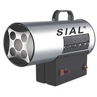 Portable Grey LPG Space Heater 15,000W