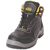 Site Froswick   Safety Boots Black Size 10