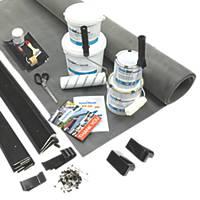 "ClassicBond  Classicbond Flat Roof Kit Membrane 8'6 x 18'6"""