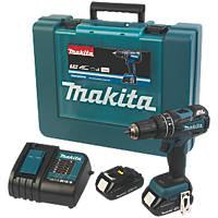 Makita DHP480SYE 18V 1.5Ah Li-Ion LXT Brushless Cordless Combi Drill